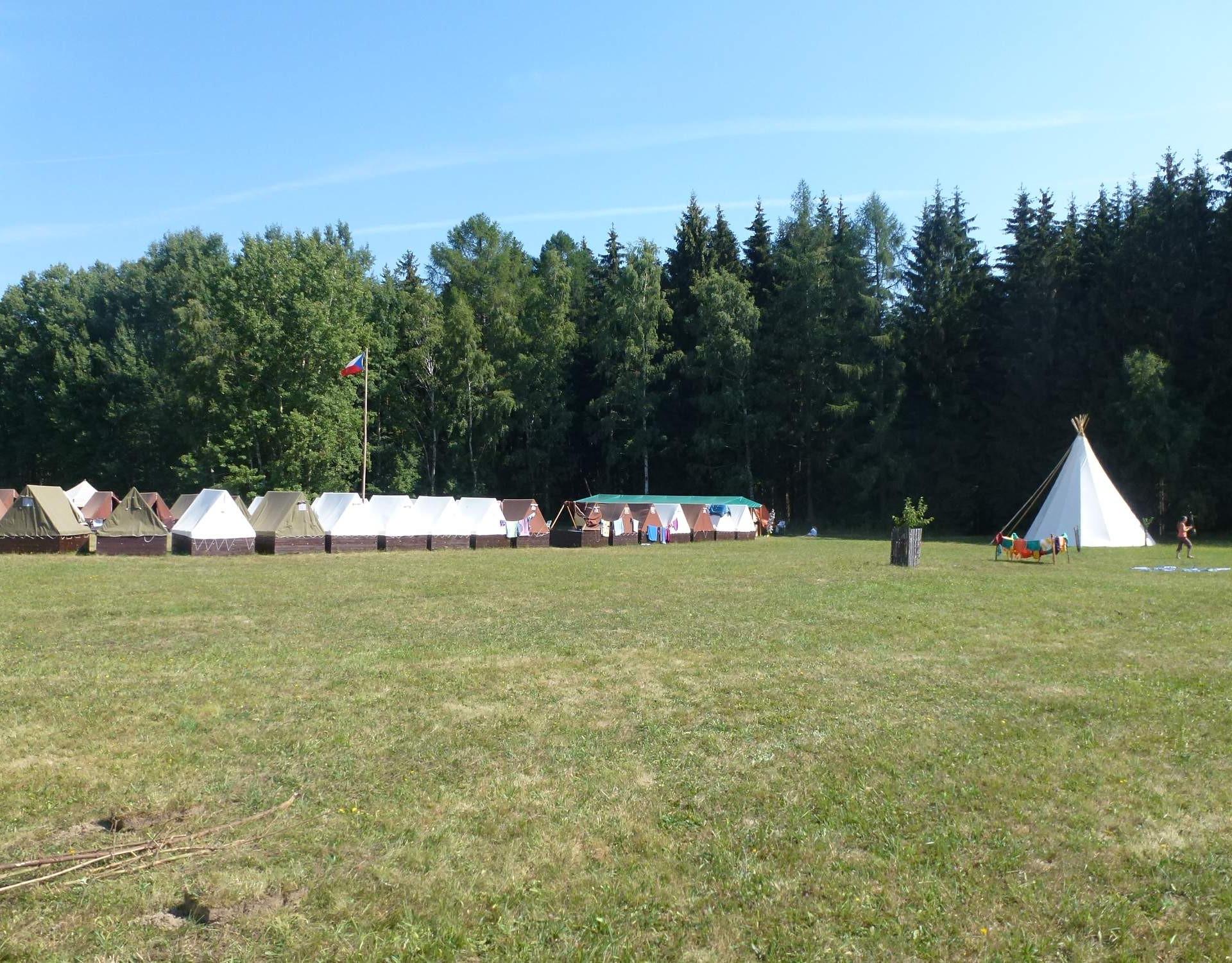 Letní skautský tábor