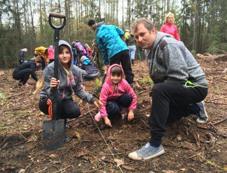 Zasadili jsme 500 stromů!