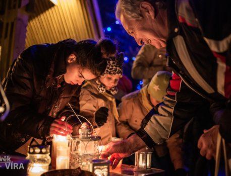 Fotografie z Betlémského světýlka