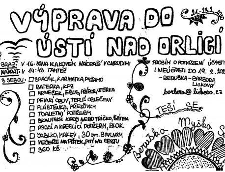 Výprava do Ústí nad Orlicí